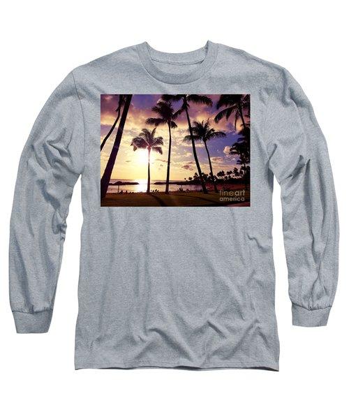 Koolina Sunset Long Sleeve T-Shirt