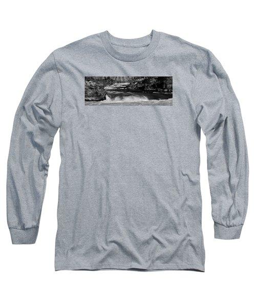 Kootenai Falls, Montana Long Sleeve T-Shirt