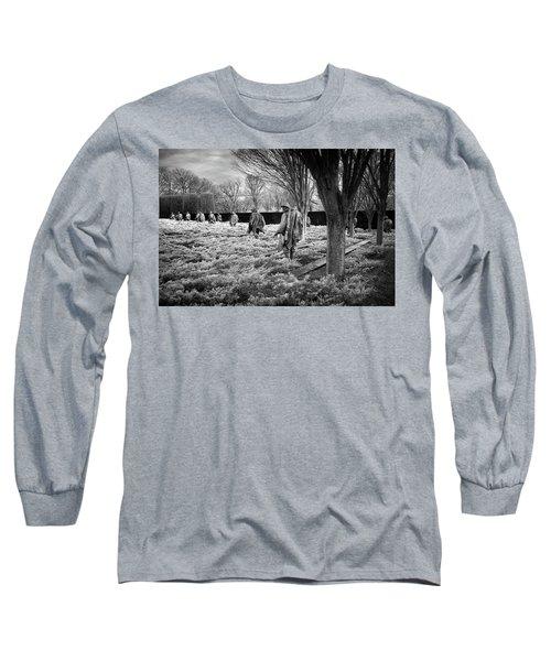 Korean War Memorial Long Sleeve T-Shirt by Paul Seymour