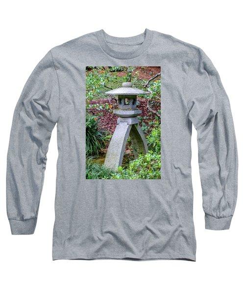 Kotoji Lantern  Long Sleeve T-Shirt by Louis Ferreira