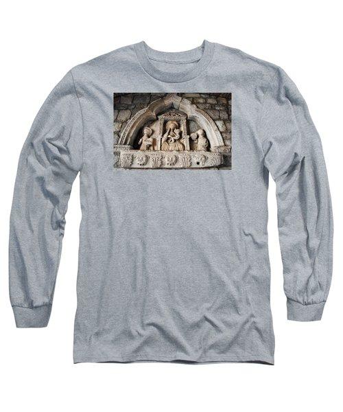 Kotor Wall Engraving Long Sleeve T-Shirt