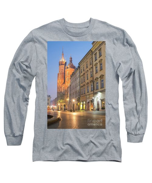 Long Sleeve T-Shirt featuring the photograph Krakow by Juli Scalzi