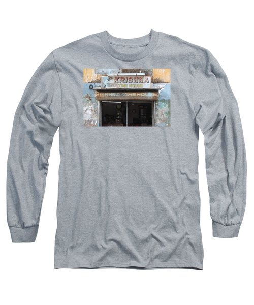 Krishna Time House Long Sleeve T-Shirt by Jennifer Mazzucco