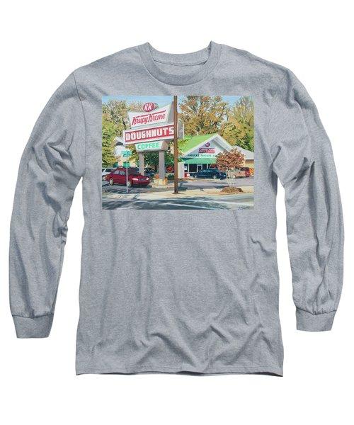 Krispy Kreme At Daytime Long Sleeve T-Shirt