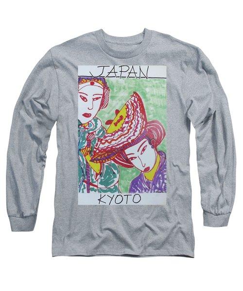 Kyoto Japan  Long Sleeve T-Shirt