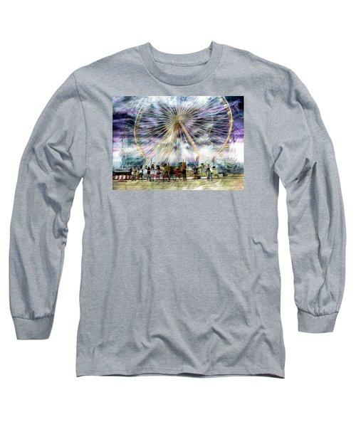 Flash Mob,k-pop, 2ne1 Long Sleeve T-Shirt