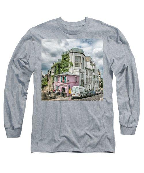 La Maison Rose Long Sleeve T-Shirt by Alan Toepfer