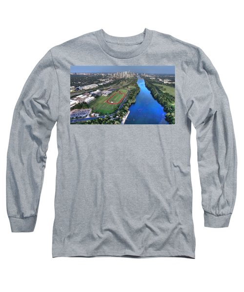 Lady Bird Lake Long Sleeve T-Shirt by Andrew Nourse