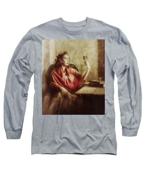 Lady By The Window Long Sleeve T-Shirt