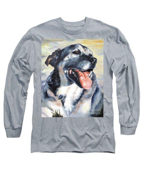 Lady Long Sleeve T-Shirt by Diane Daigle
