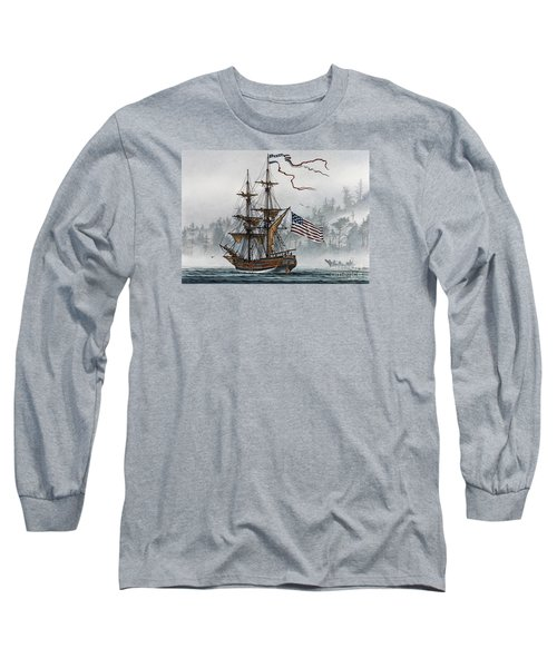 Lady Washington Long Sleeve T-Shirt by James Williamson