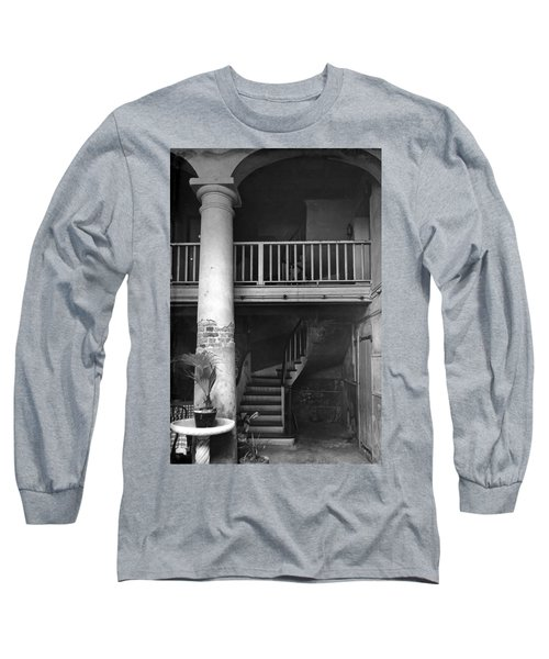 Lafittes Patio At The Absinthe House Long Sleeve T-Shirt