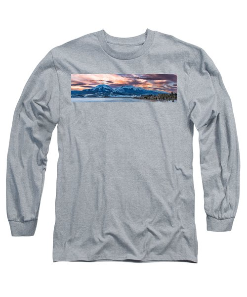 Long Sleeve T-Shirt featuring the photograph Lake Dillon by Sebastian Musial