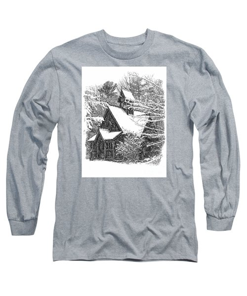 Lake Effect Snow Long Sleeve T-Shirt