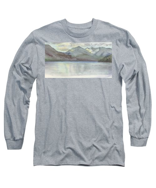 Study For Silver Bay, Lake George Long Sleeve T-Shirt