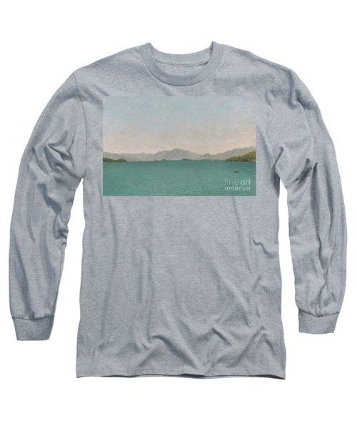 Lake George, Free Study, 1872 Long Sleeve T-Shirt