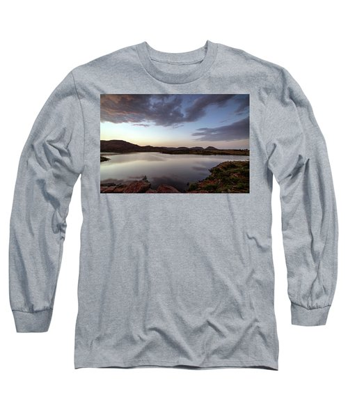 Lake In The Wichita Mountains  Long Sleeve T-Shirt