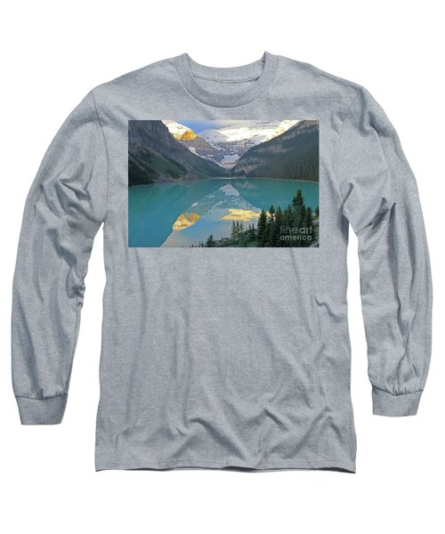 Lake Louise Sunrise Long Sleeve T-Shirt