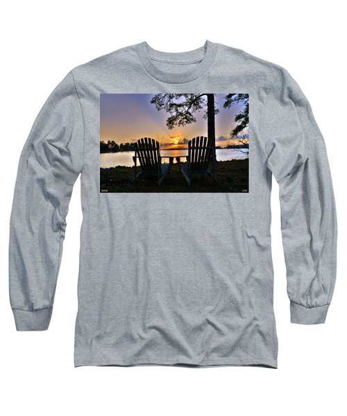 Lake Murray Relaxation Long Sleeve T-Shirt