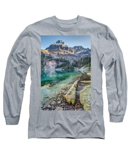Lake O'hara Scenic Shoreline Long Sleeve T-Shirt
