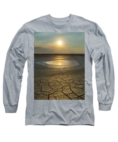 Lake On Fire Long Sleeve T-Shirt