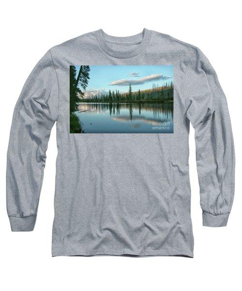 Lake Reflections Long Sleeve T-Shirt