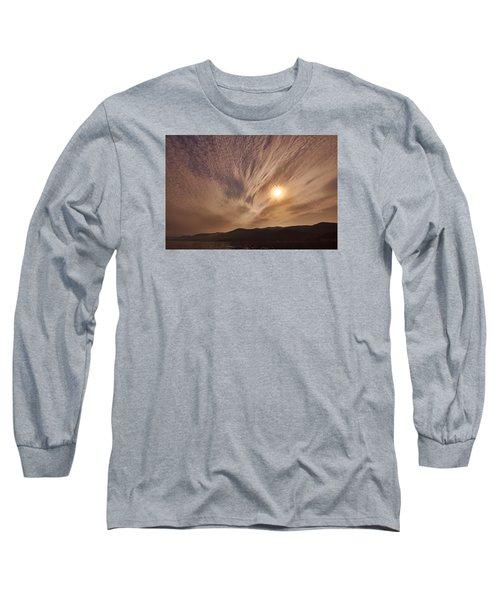 Lake Roosevelt Washington Long Sleeve T-Shirt by Loni Collins