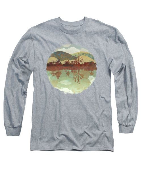 Lake Side Long Sleeve T-Shirt by Spacefrog Designs