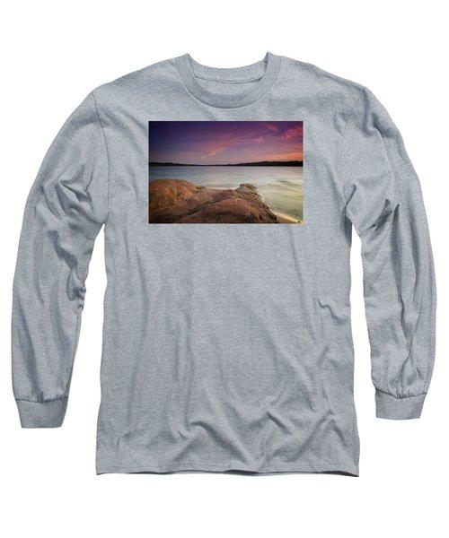 Lake Sunset II Long Sleeve T-Shirt