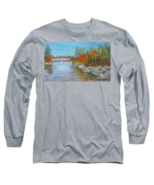 Lake Susie  Long Sleeve T-Shirt by Rae  Smith
