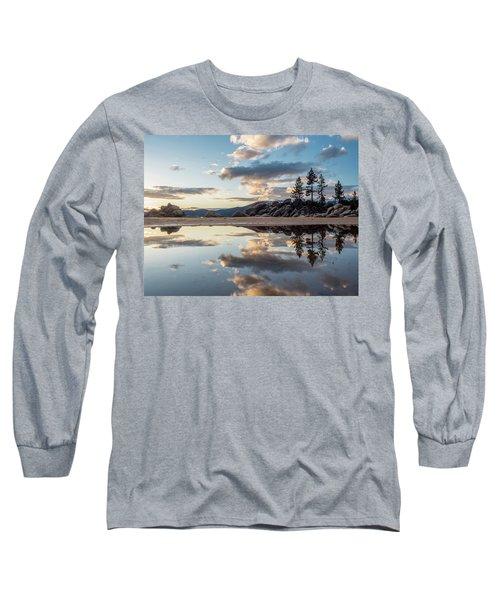 Lake Tahoe Mirror Long Sleeve T-Shirt