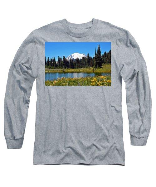 Lake Tipsoo Long Sleeve T-Shirt