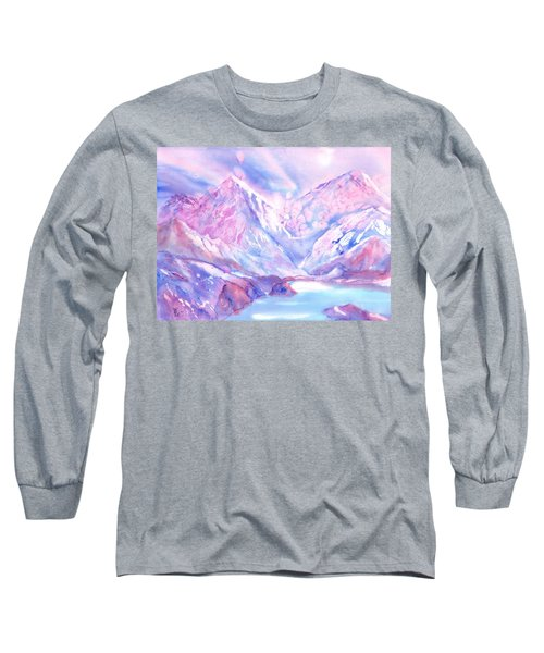 Swiss Mountains - Lake With A View Long Sleeve T-Shirt