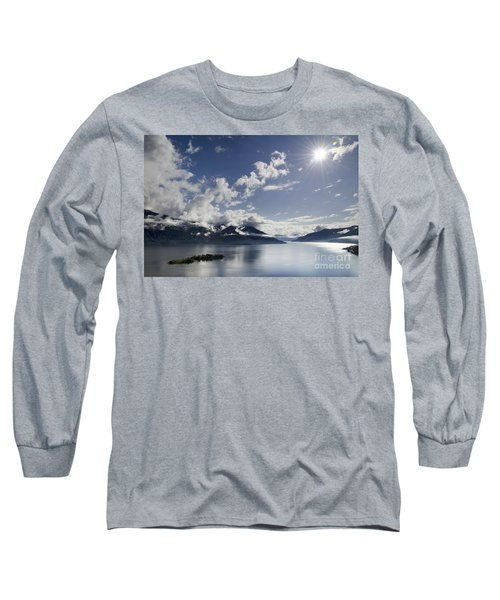Lake With Islands Long Sleeve T-Shirt
