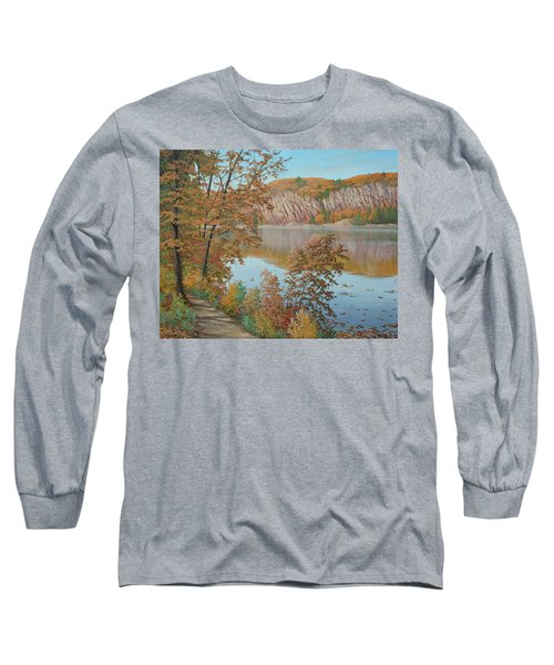 Lakeside In October Long Sleeve T-Shirt
