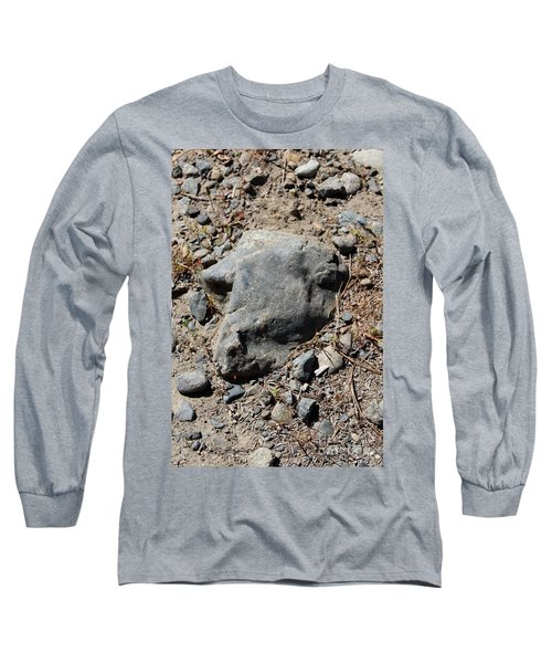 Long Sleeve T-Shirt featuring the photograph Lambchop by Marie Neder