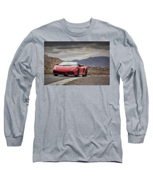 Lamborghini Gallardo Lp570-4 Spyder Performante Long Sleeve T-Shirt