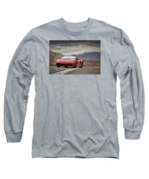 Lamborghini Gallardo Lp570-4 Spyder Performante Long Sleeve T-Shirt