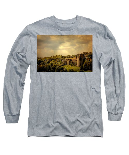 Long Sleeve T-Shirt featuring the photograph Lancing College by Chris Lord