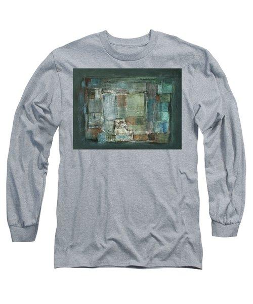 Texture Long Sleeve T-Shirt by Behzad Sohrabi