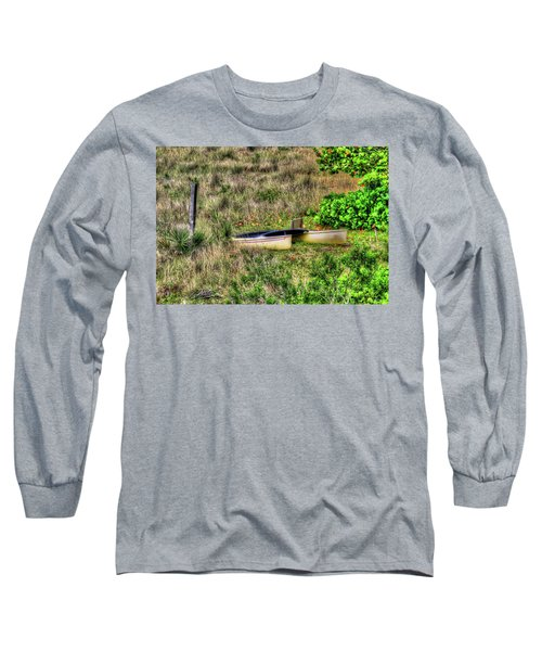 Long Sleeve T-Shirt featuring the photograph Land Locked by Tom Prendergast