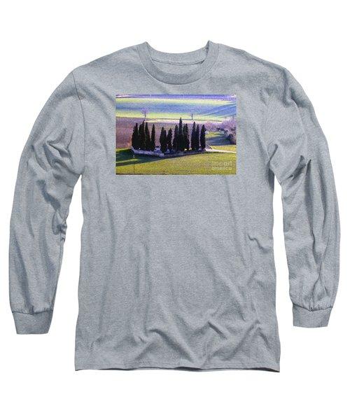 Long Sleeve T-Shirt featuring the photograph Landscape by Jean Bernard Roussilhe