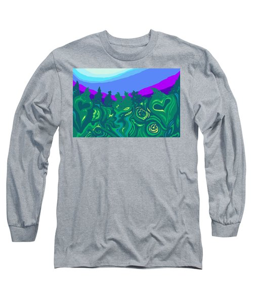 Language Of Forest Long Sleeve T-Shirt