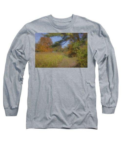 Langwater Farm Tractor Path Long Sleeve T-Shirt