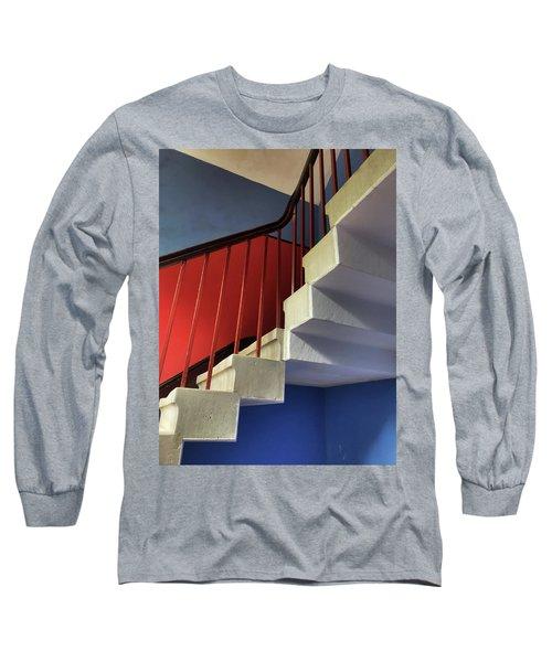 Lanhydrock Stairs Long Sleeve T-Shirt