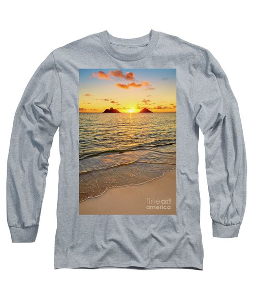 Lanikai Sunrise Between The Mokes Long Sleeve T-Shirt