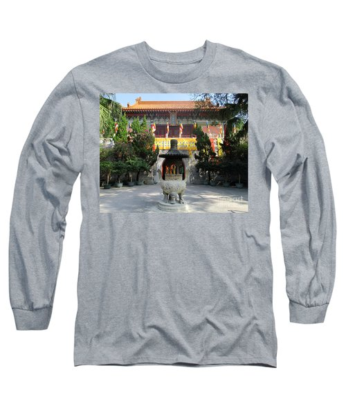 Long Sleeve T-Shirt featuring the photograph Lantau Island 45 by Randall Weidner