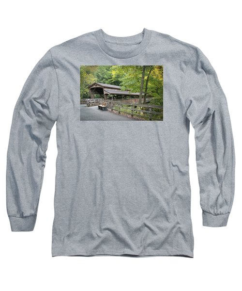 Lanterman's Mill Covered Bridge Long Sleeve T-Shirt