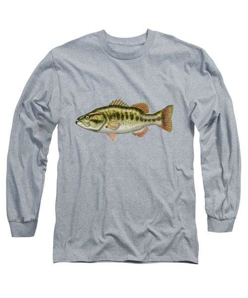 Largemouth Bass Long Sleeve T-Shirt