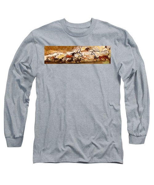 Lascaux Hall Of The Bulls Long Sleeve T-Shirt